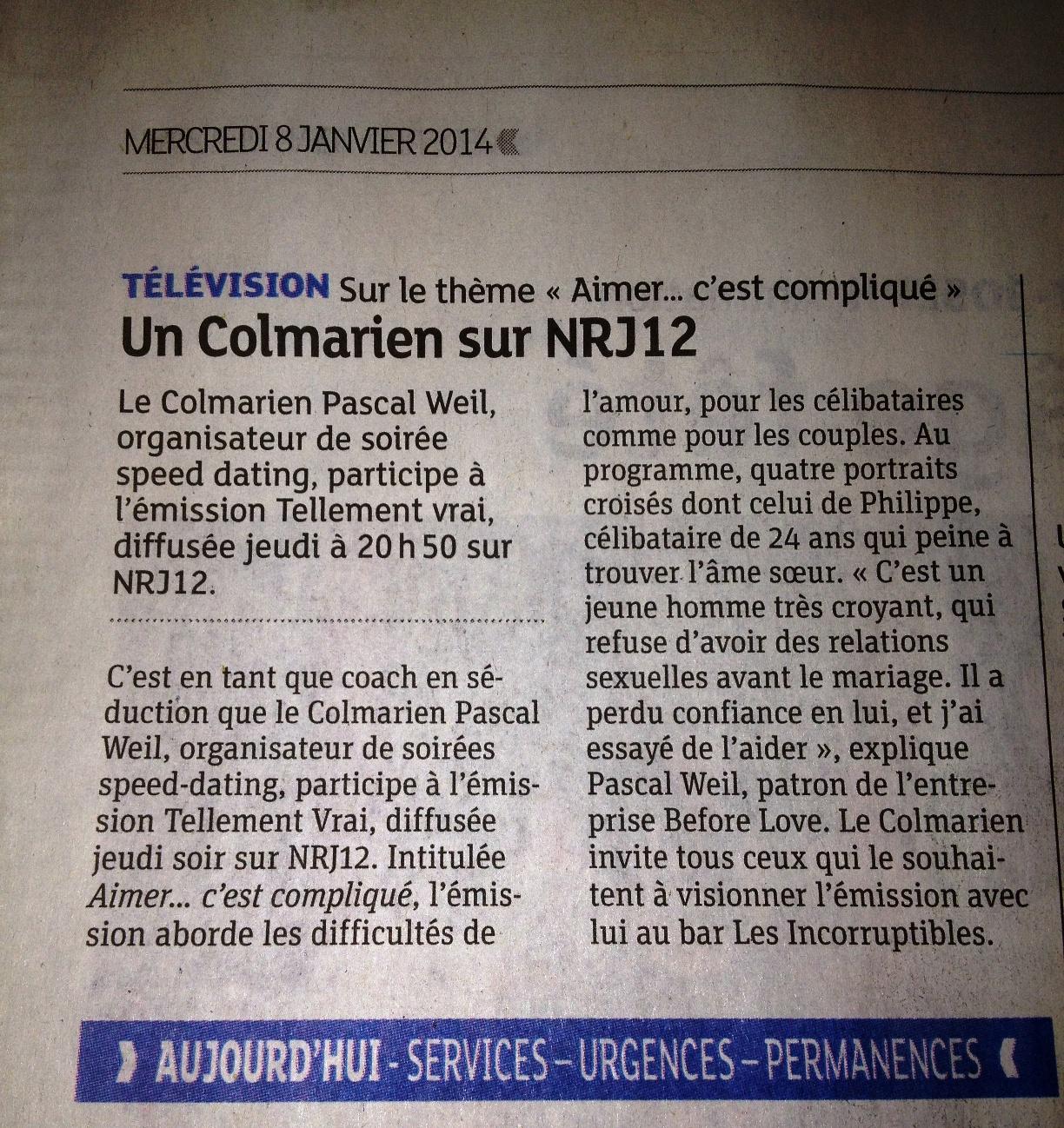 Rencontre nrj12