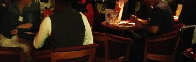 Ambiance décontractée au Rock Café